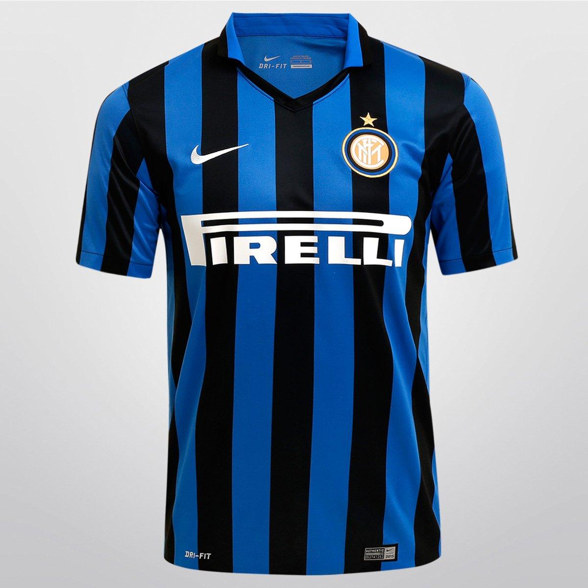 2b93c6bd73 Camisa Nike Inter de Milão Home 15 16 s nº - Compre Agora