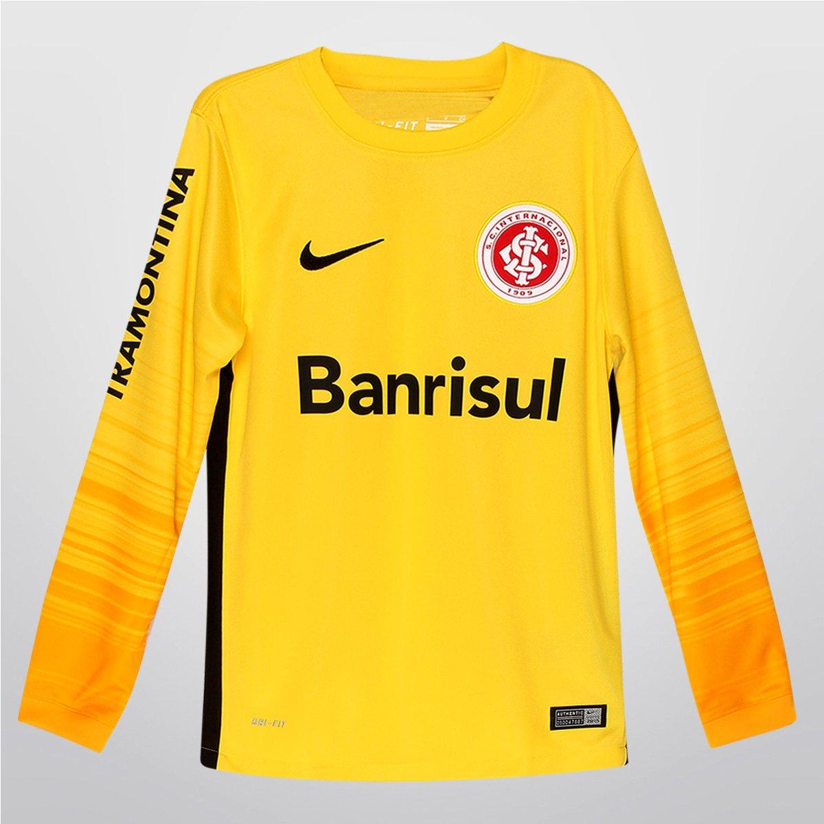 Camisa Nike Internacional Goleiro 2015 s nº Infantil - Compre Agora ... 208831b15d801
