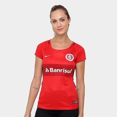 56ce10648b54f Promoção de Camisa feminina nike internacional i 2016 sno netshoes ...