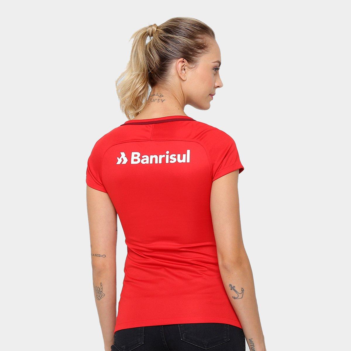 ... Camisa Nike Internacional Home - 17 18 s nº - Torcedor - Feminina ... 6329d6b5525a6