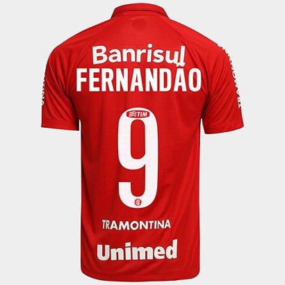 Camisa Nike Internacional I 15 16 nº 9 - Fernandão - Compre Agora ... 46d1669f53f1b