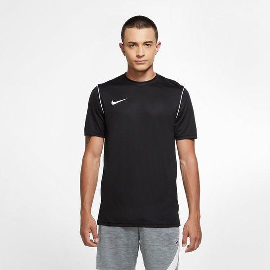 Camisa Nike Park Dri-Fit Masculina - Preto+Branco