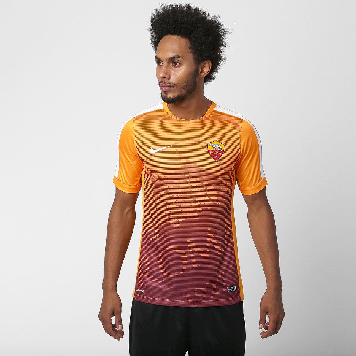 30485922f4 Camisa Nike Roma Pre Match 2015 - Compre Agora