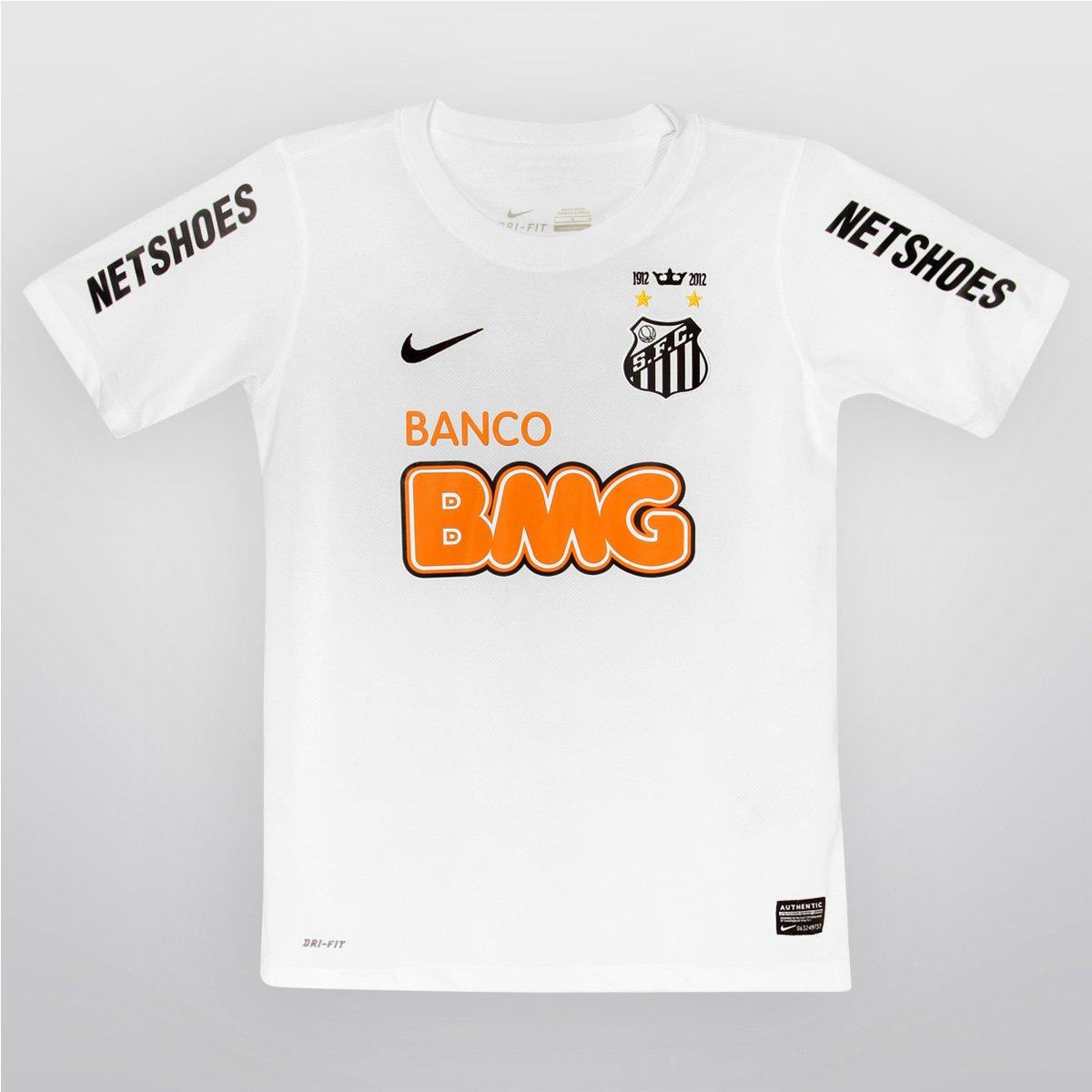 3a1a83ab631 Camisa Nike Santos I 12 13 s n° Infantil - Compre Agora