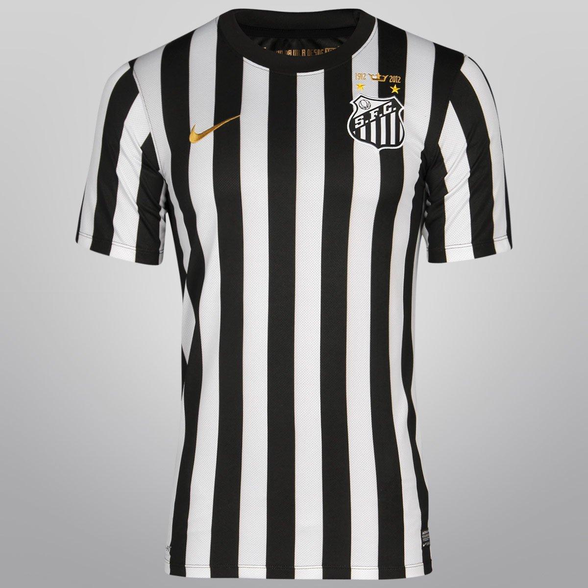 24d1b1b132 Camisa Nike Santos II 12 13 s nº - Compre Agora