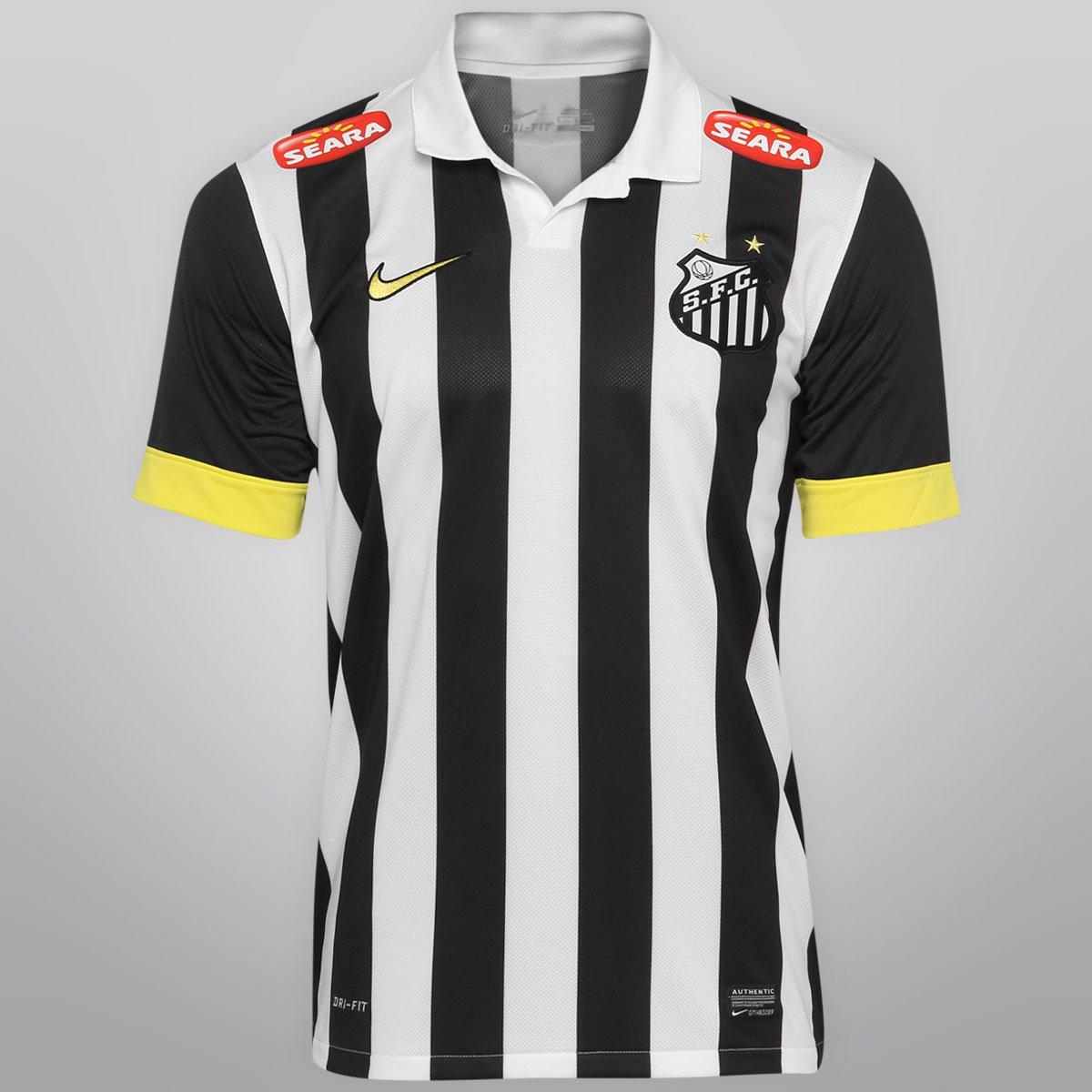 Camisa Nike Santos II 13 14 s nº - Compre Agora  612079d290107