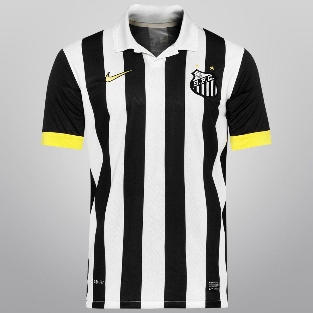 Camisa Nike Santos II 13 14 s nº - Compre Agora  d7815e620f7ae