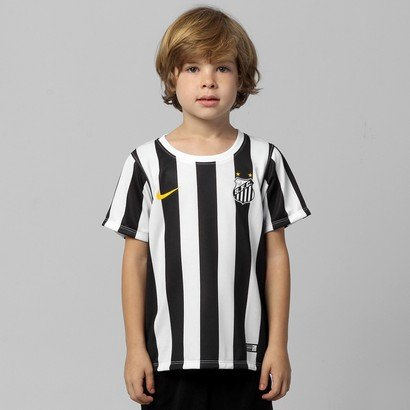 8933e685a239f Camisa Nike Santos II 14 15 s nº Infantil - Compre Agora