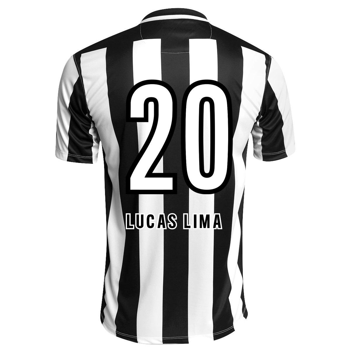 Camisa Nike Santos II 2015 nº 20 - Lucas Lima - Compre Agora  08ea72076a5ab