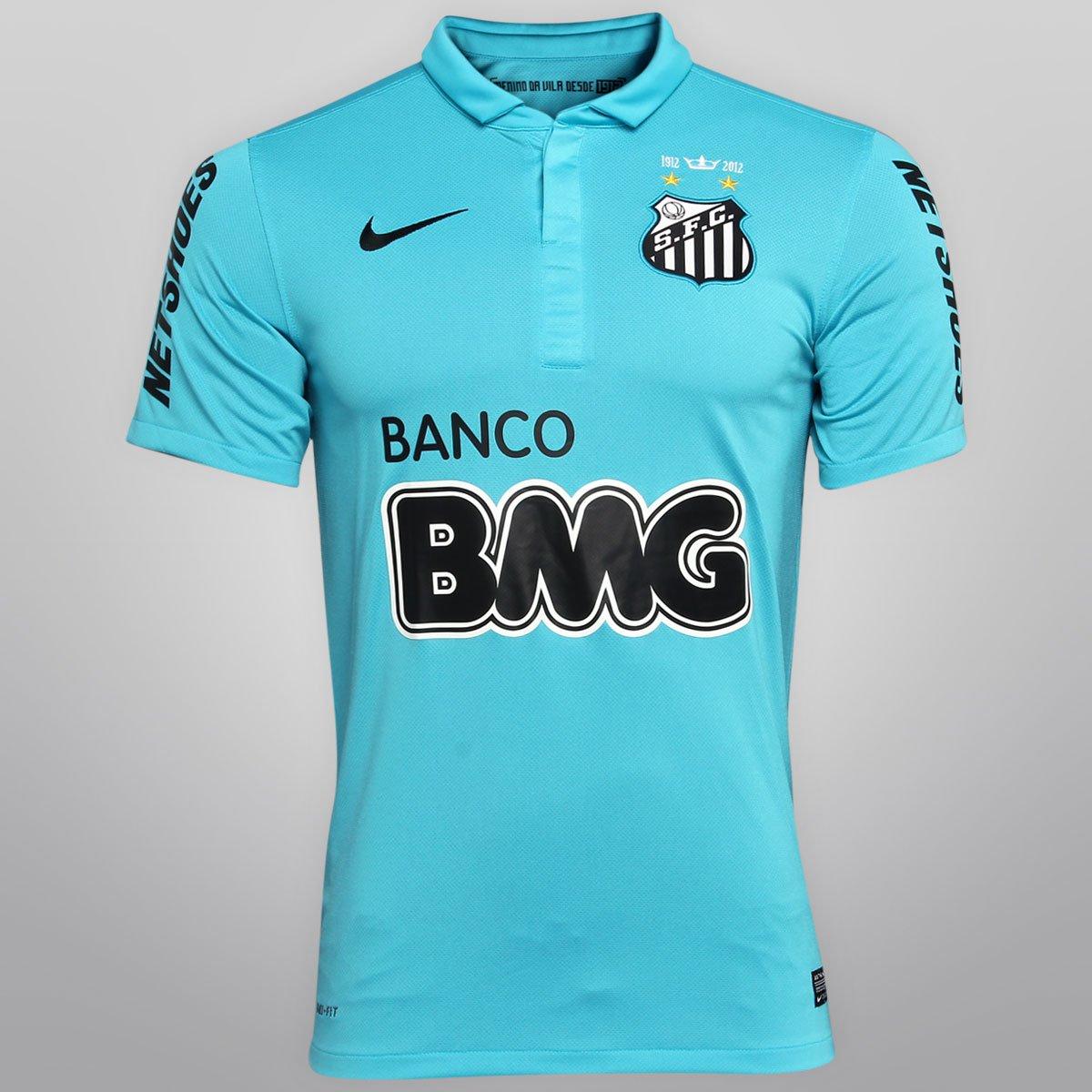 Camisa Nike Santos III 12 13 - Centenário nº 10 - Montillo - Compre Agora  9ccb9e9f3eda6