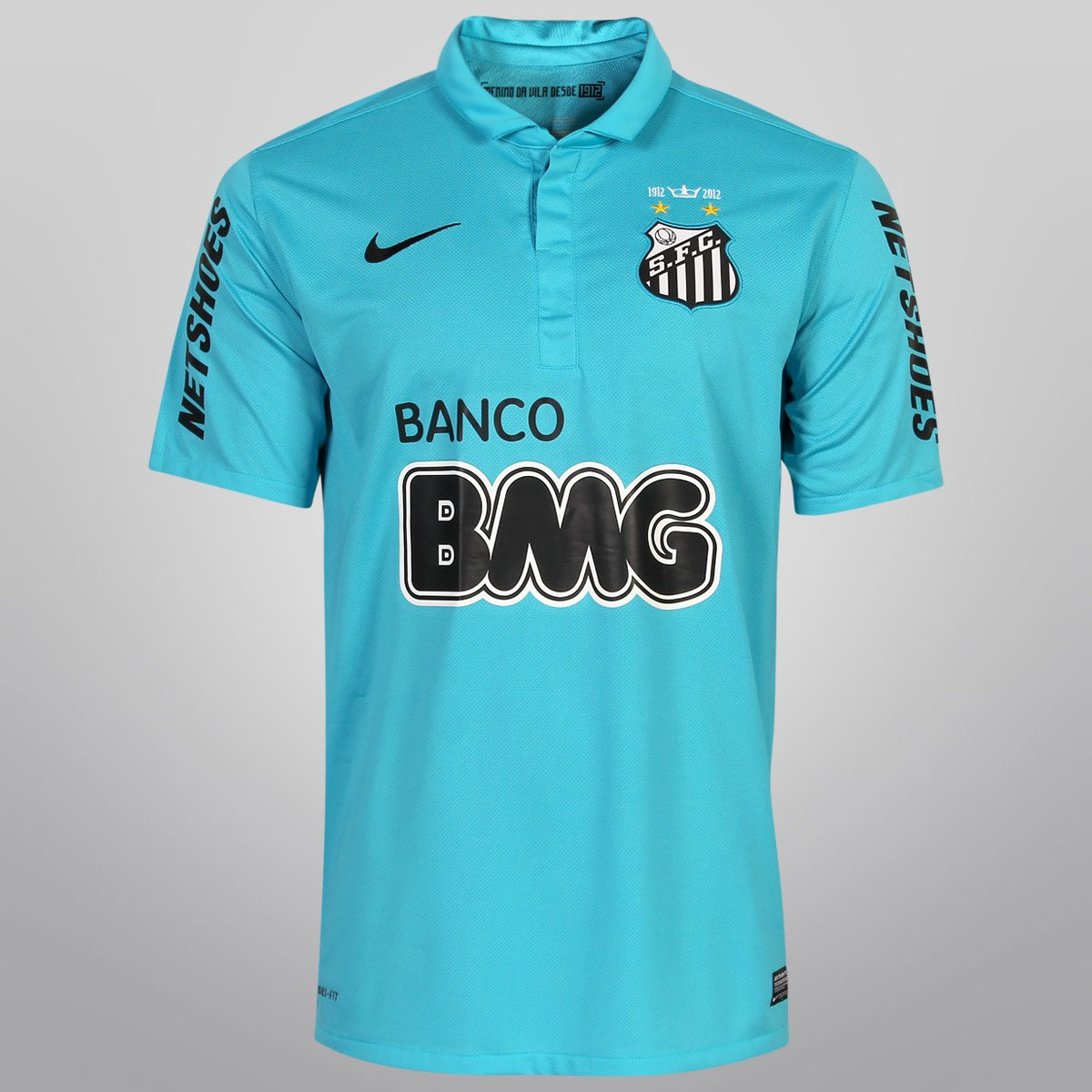 Camisa Nike Santos III 12 13 s nº - Centenário - Compre Agora  8db2accf919e4