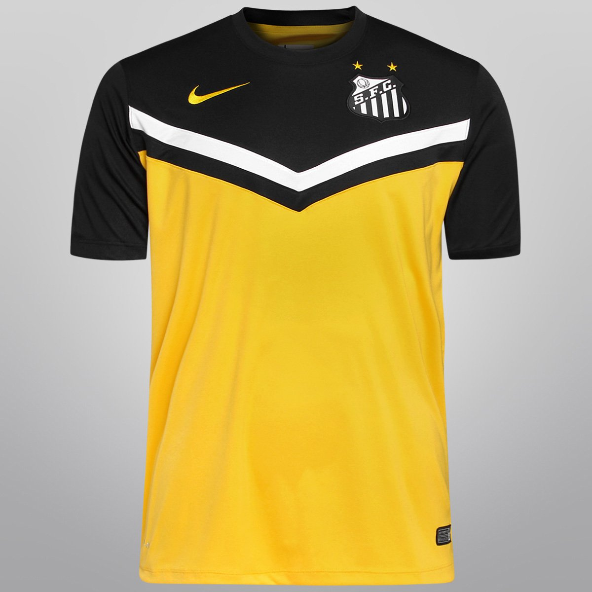 Camisa Nike Santos III 2014 s nº - Compre Agora  e4d55a471aa69