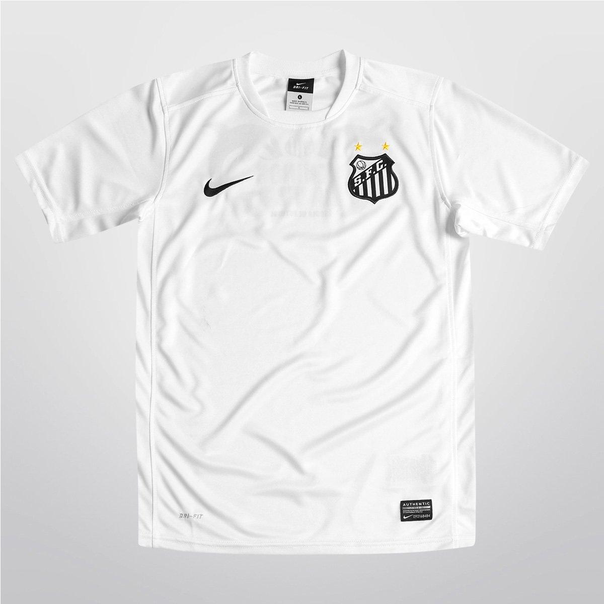 Camisa Nike Santos Treino 13 14 Infantil - Compre Agora  be6dbd2269b8c