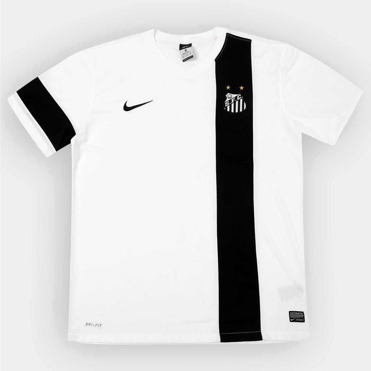4b703b065b Camisa Nike Santos Treino 2013 - Comissão Técnica - Compre Agora ...