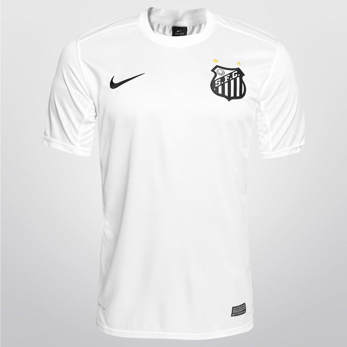 Camisa Nike Santos Treino Infantil - Compre Agora  29f28cf8aab79