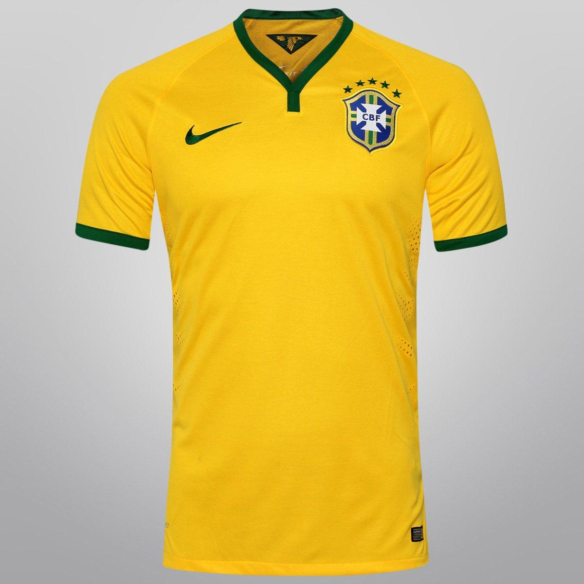 ae0e3a099b Camisa Nike Seleção Brasil I 2014 nº 10 - Jogador - Compre Agora ...