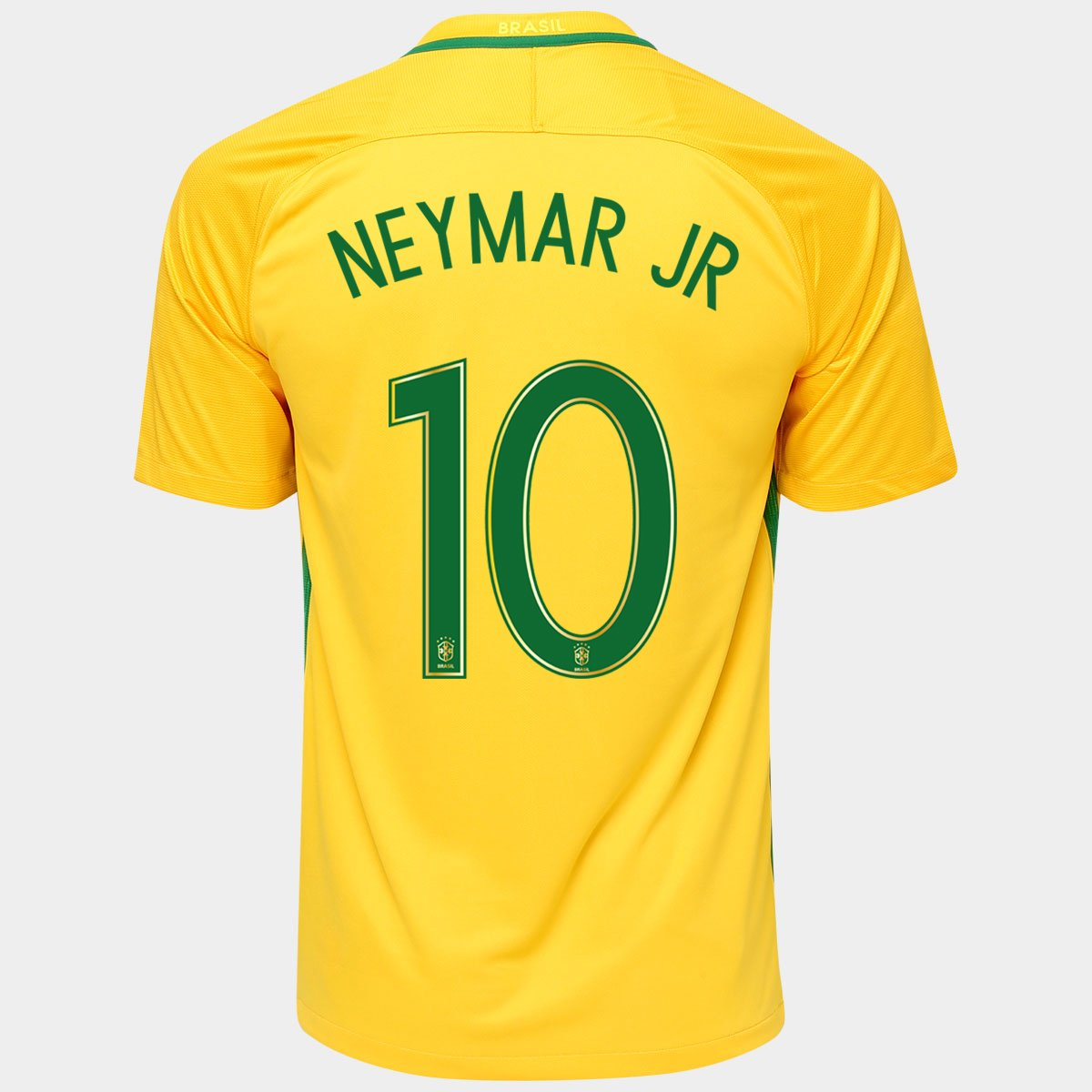 Camisa Nike Seleção Brasil I 2016 nº 10 - Neymar Jr - Compre Agora ... da4498673c0ca