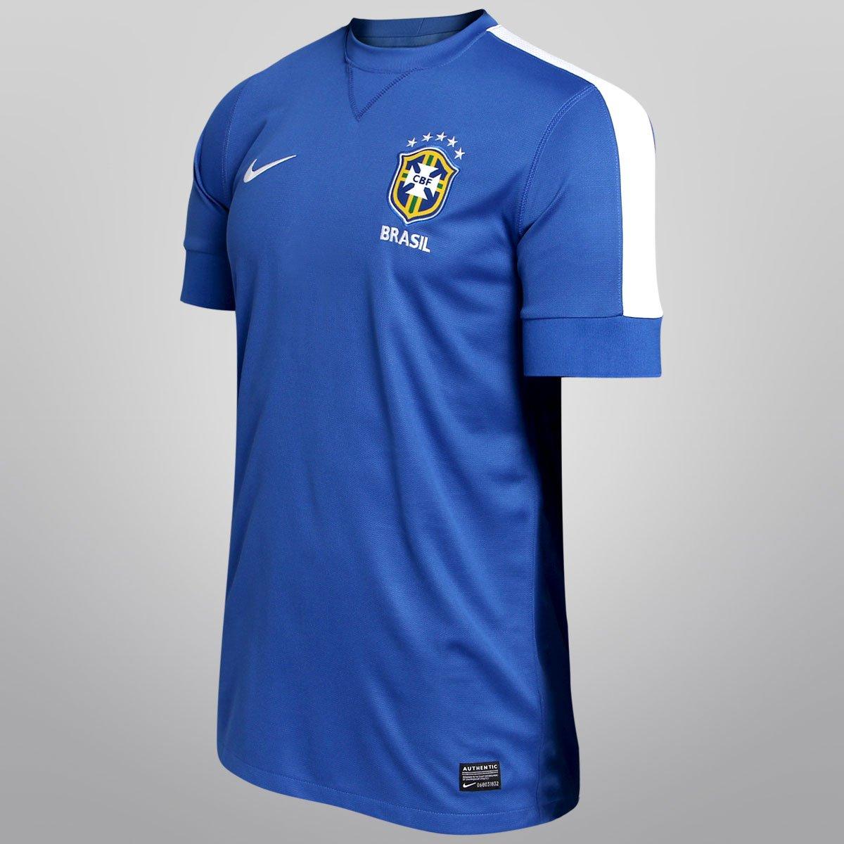 Camisa Nike Seleção Brasil II 2013 s nº - Compre Agora  1b3aa68686f10