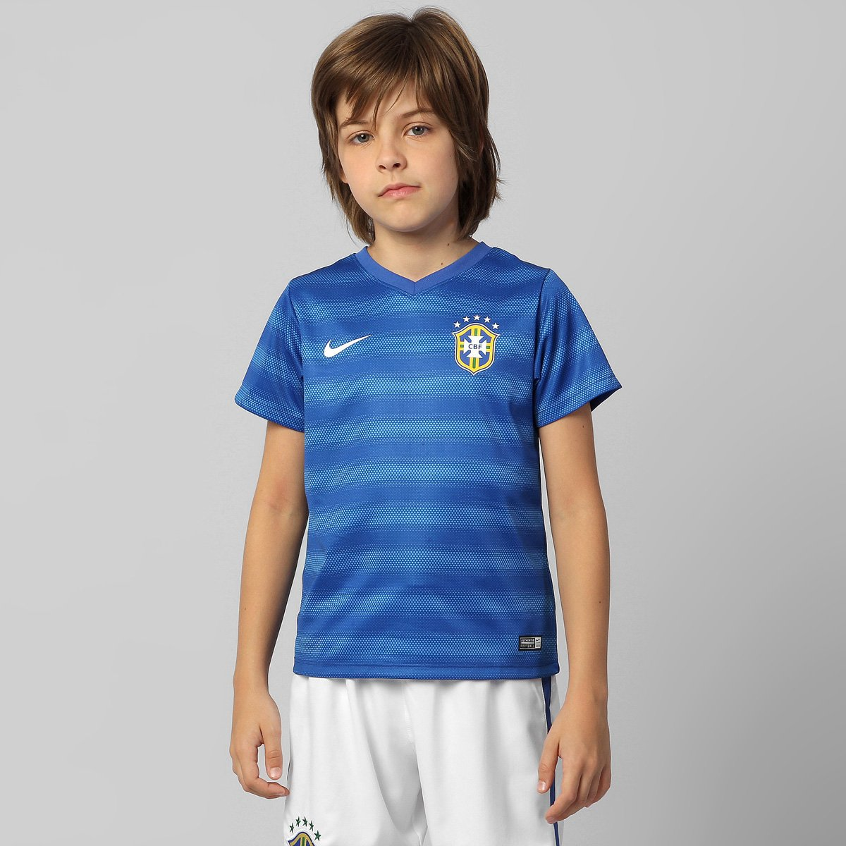 b313213e95 Camisa Nike Seleção Brasil II 2014 s nº Infantil - Compre Agora ...