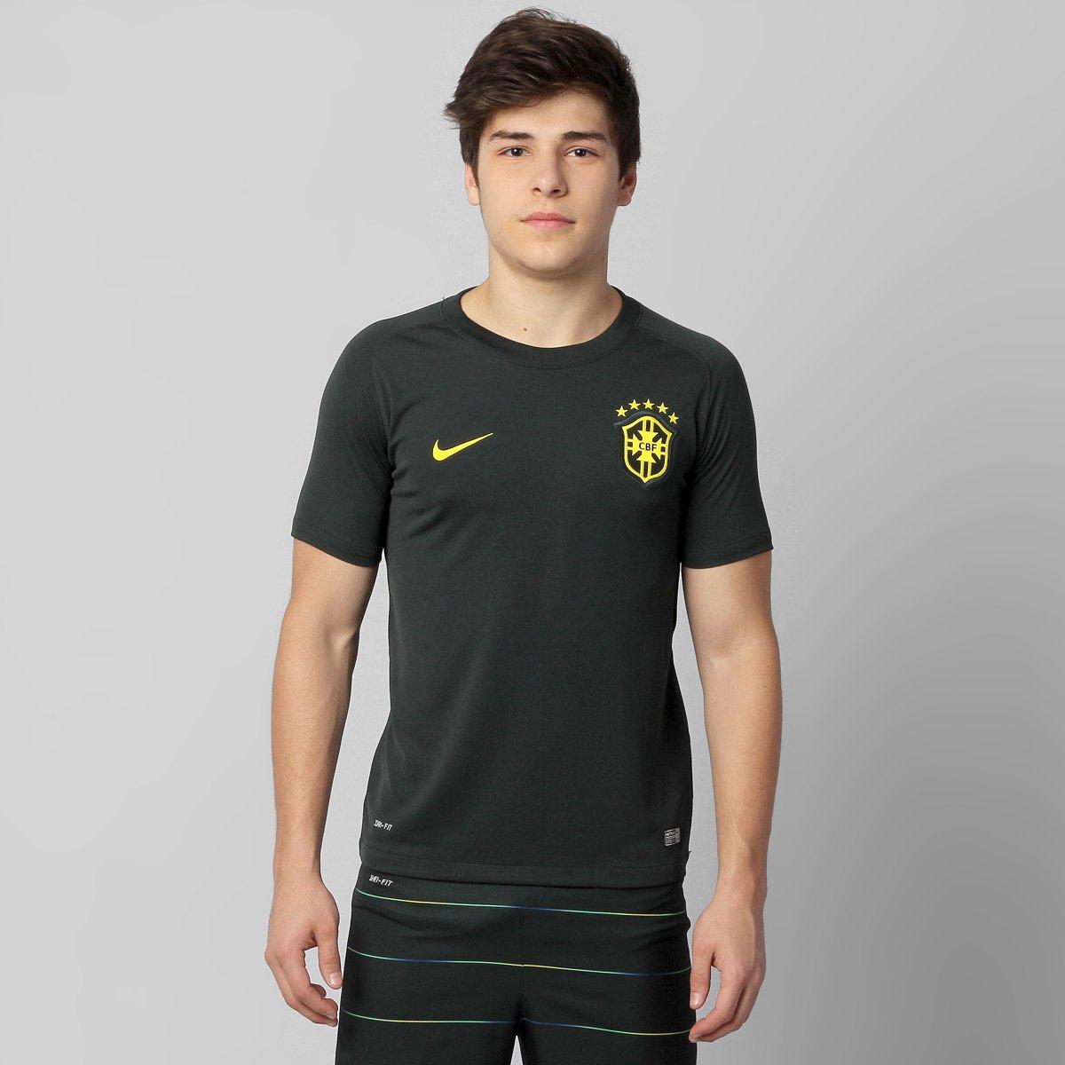 7d325da633 Camisa Nike Seleção Brasil III 2014 s nº Juvenil - Compre Agora ...