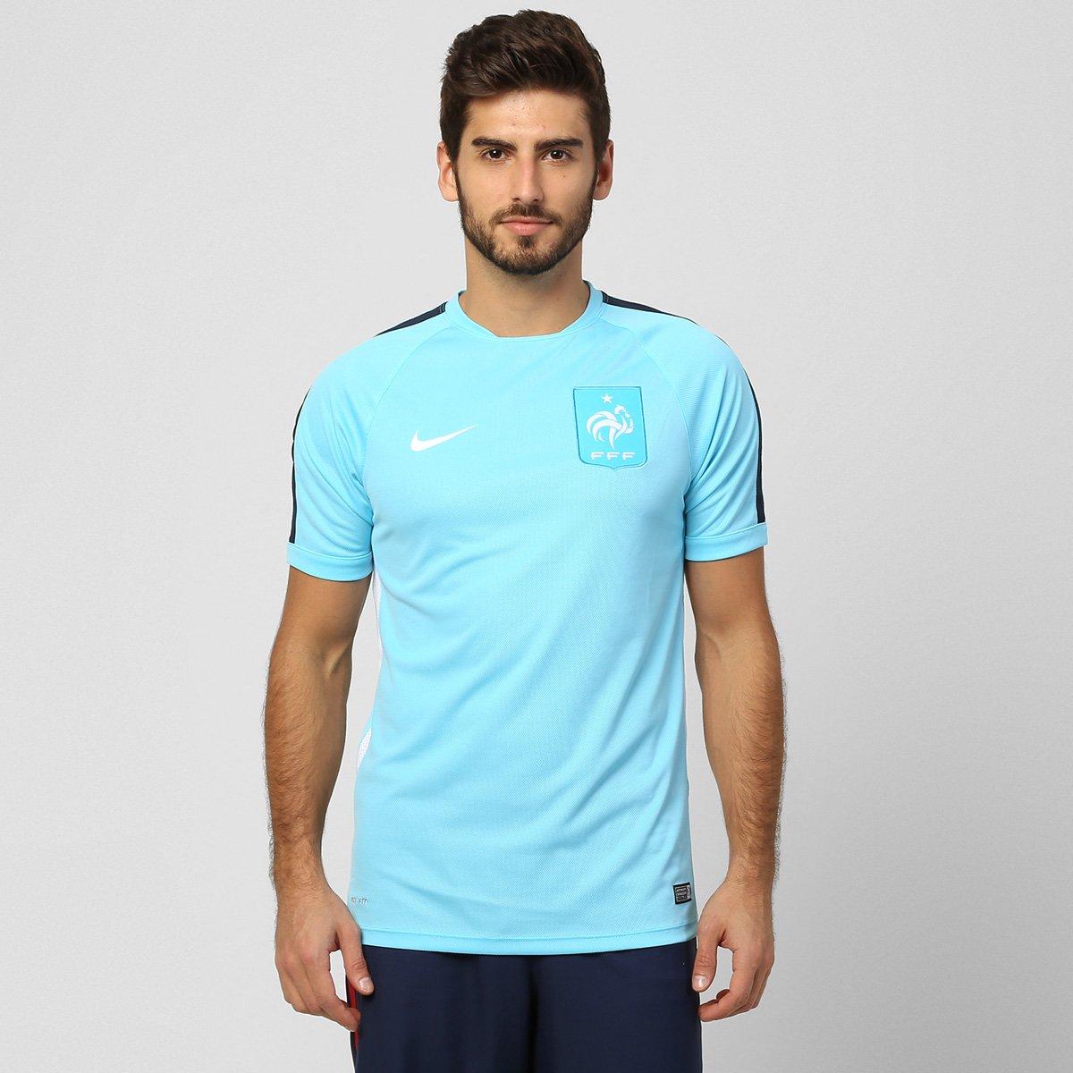 3c5993c392 Camisa Nike Seleção França Treino 2015 - Compre Agora