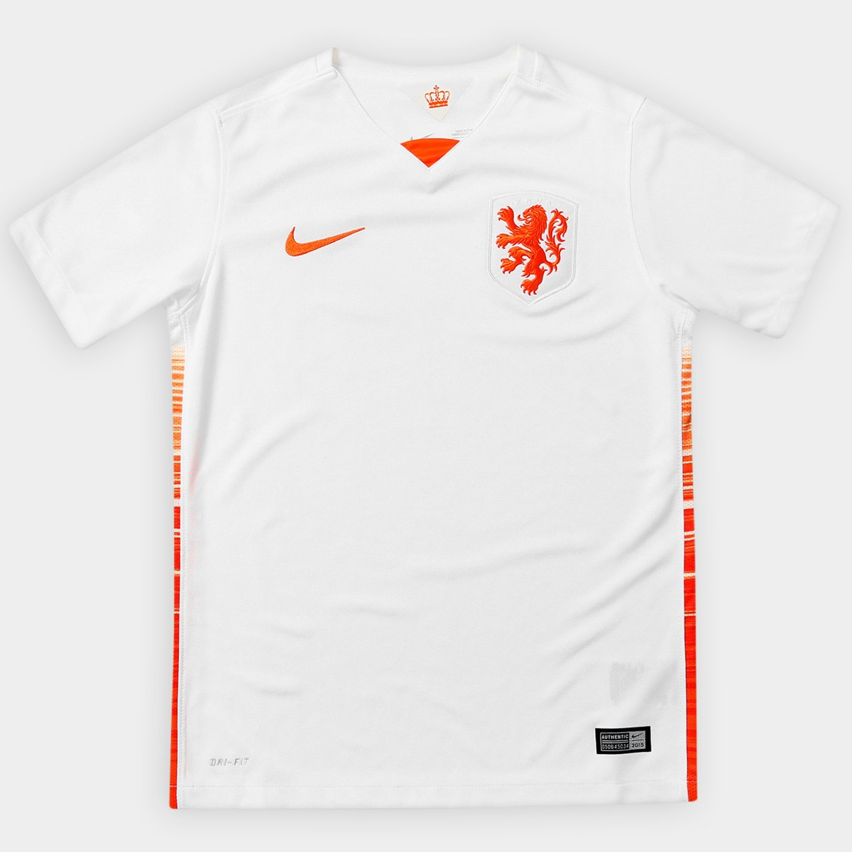be9bfcc6dd Camisa Nike Seleção Holanda Away 15 16 s nº Infantil - Compre Agora ...