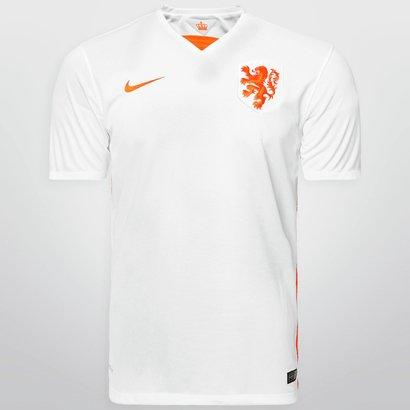 Camisa Nike Seleção Holanda Away 15 16 s nº - Compre Agora  1cf7b9359cbb6