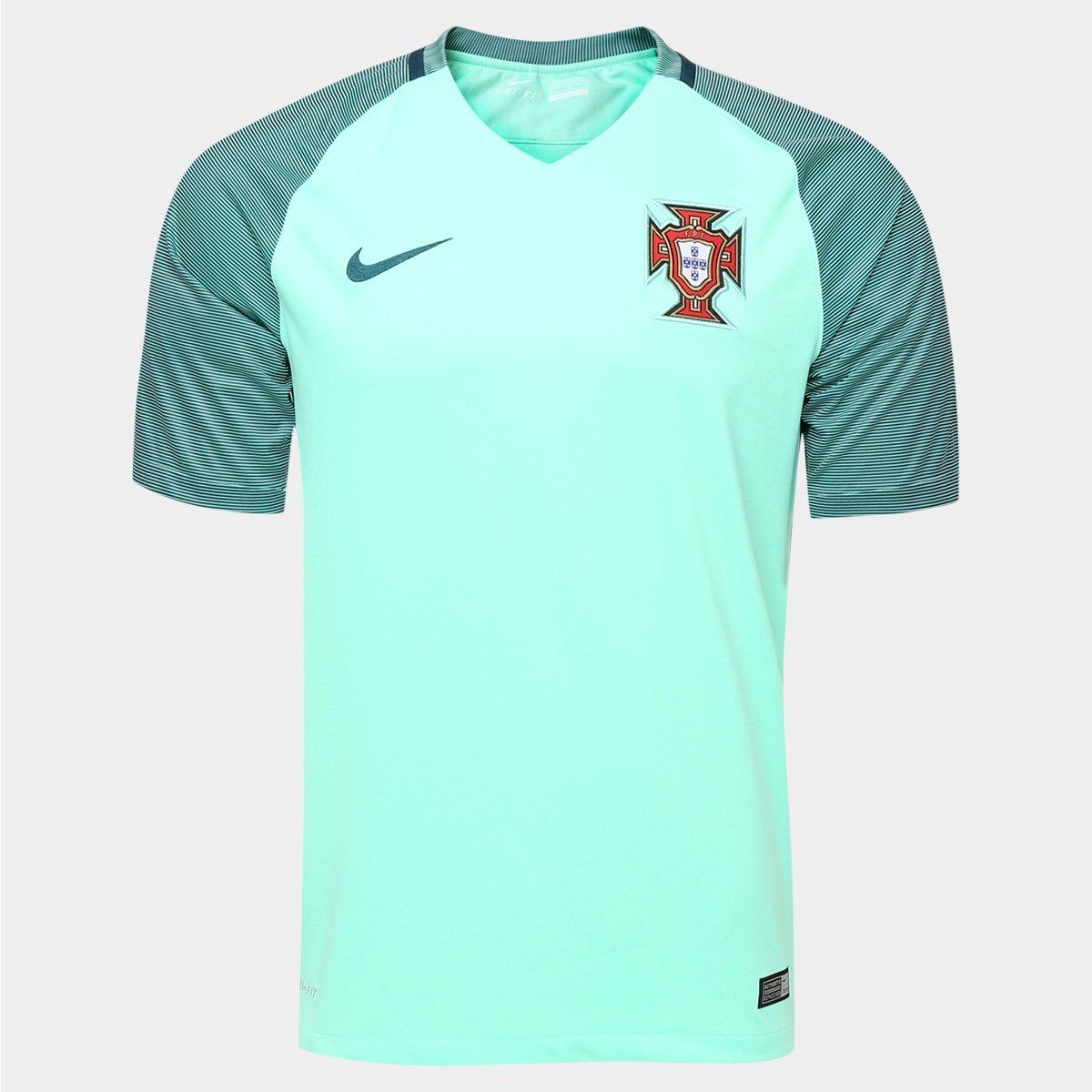 Camisa Nike Seleção Portugal Away 2016 s nº - Compre Agora  a8b4196273247