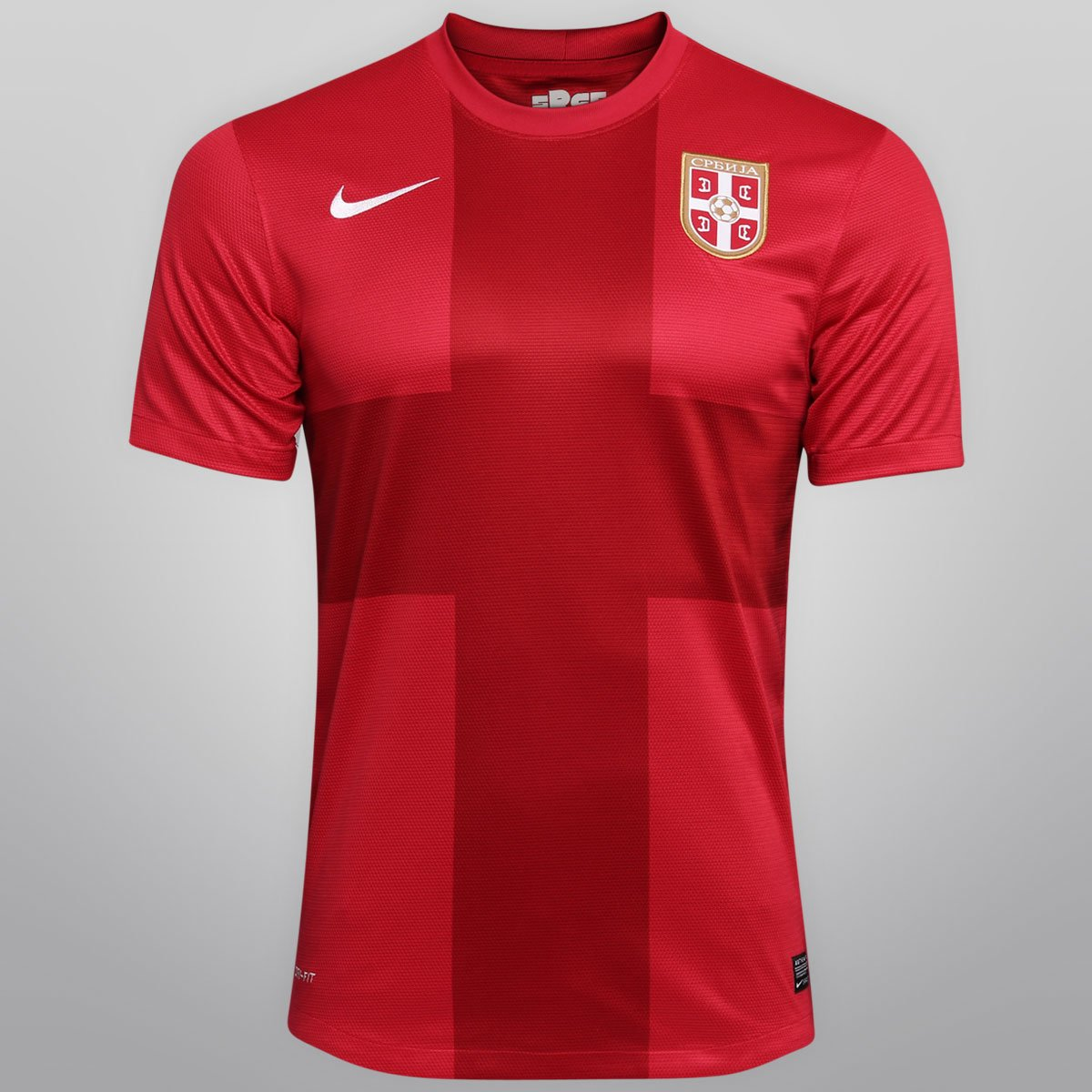 Camisa Nike Seleção Sérvia Home 2012 s nº - Compre Agora  13fbad67f3bda