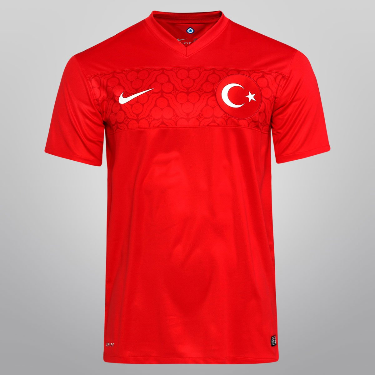 Camisa Nike Seleção Turquia Home 2014 s nº - Compre Agora  d31c27340a146