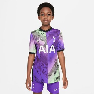 Camisa Nike Tottenham 2021/22 Torcedor Pro III Infantil