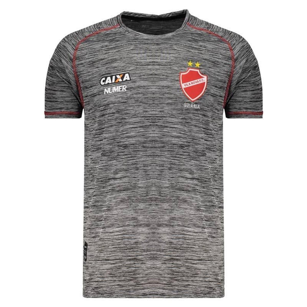 49d770242 Camisa Numer Vila Nova Concentração 2018 Masculina - Compre Agora ...