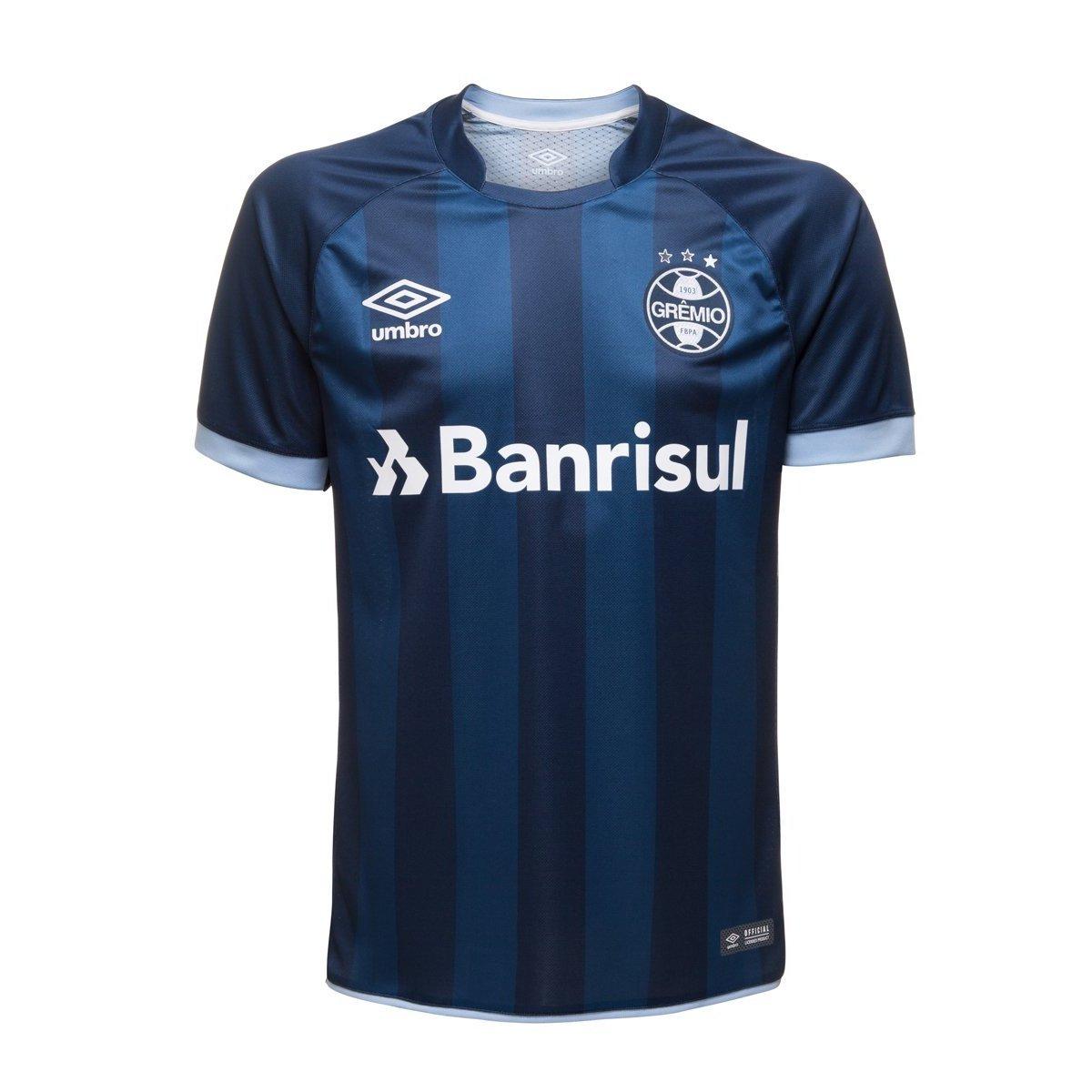 f7dbe082005cc Camisa Oficial Umbro Grêmio Masculina - Marinho - Compre Agora ...