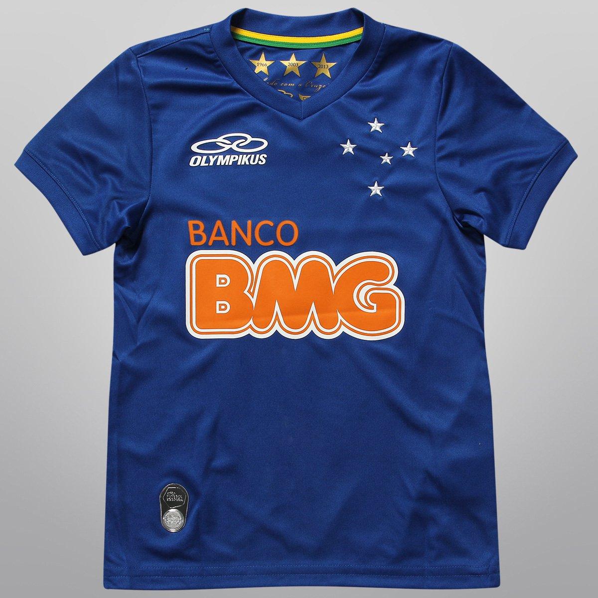 Camisa Olympikus Cruzeiro I 2014 nº 10 Infantil - Compre Agora ... f4eec172bf5f1