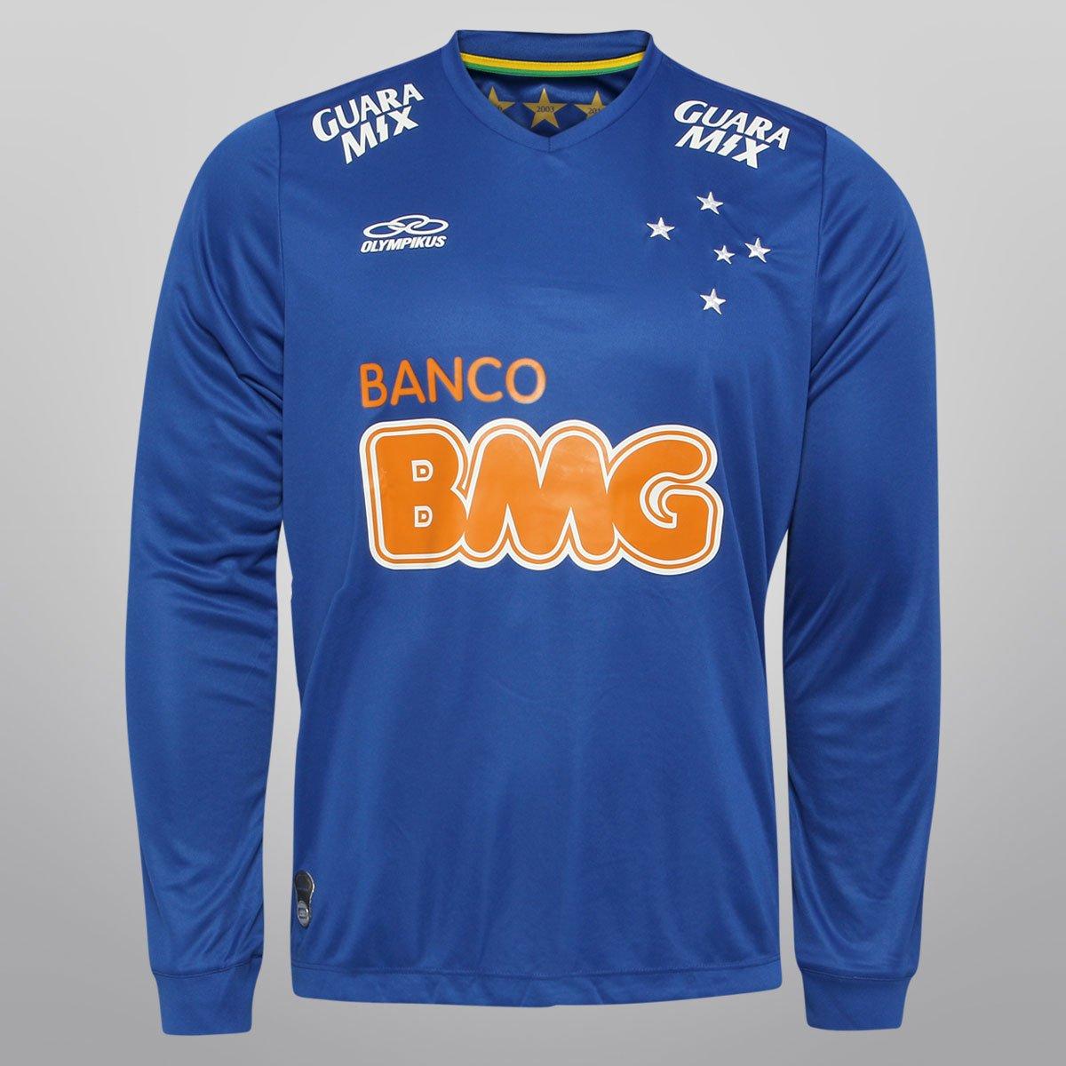 Camisa Olympikus Cruzeiro I 2014 nº 10 M L - Compre Agora  5848af1c17637