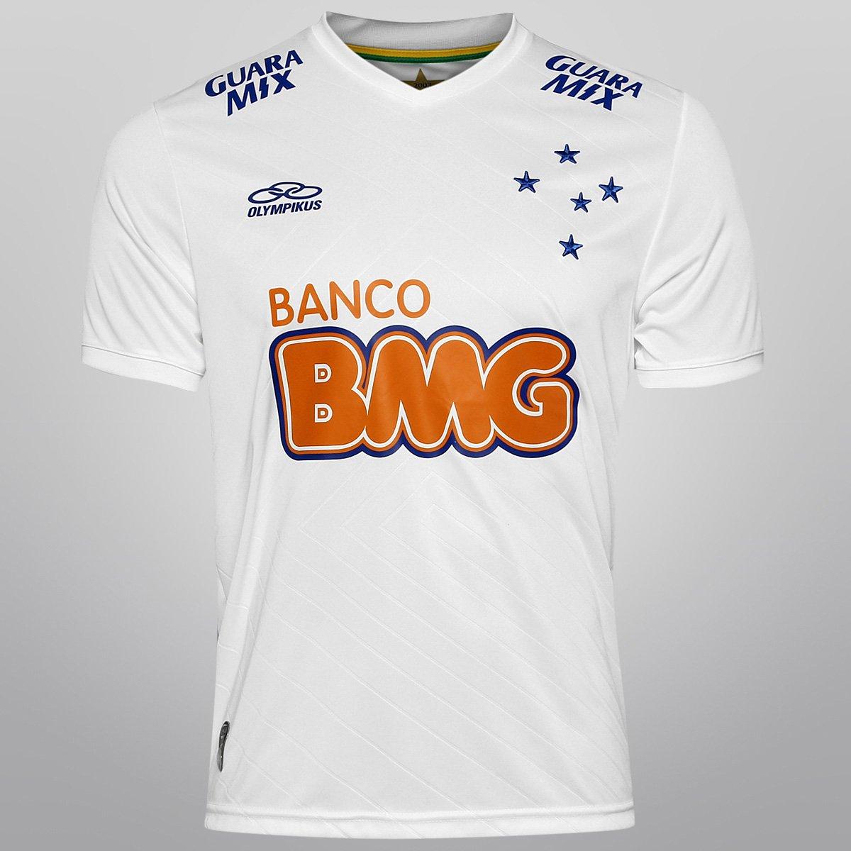 Camisa Olympikus Cruzeiro II 2014 nº 10 - Compre Agora  f0889758c1d6a