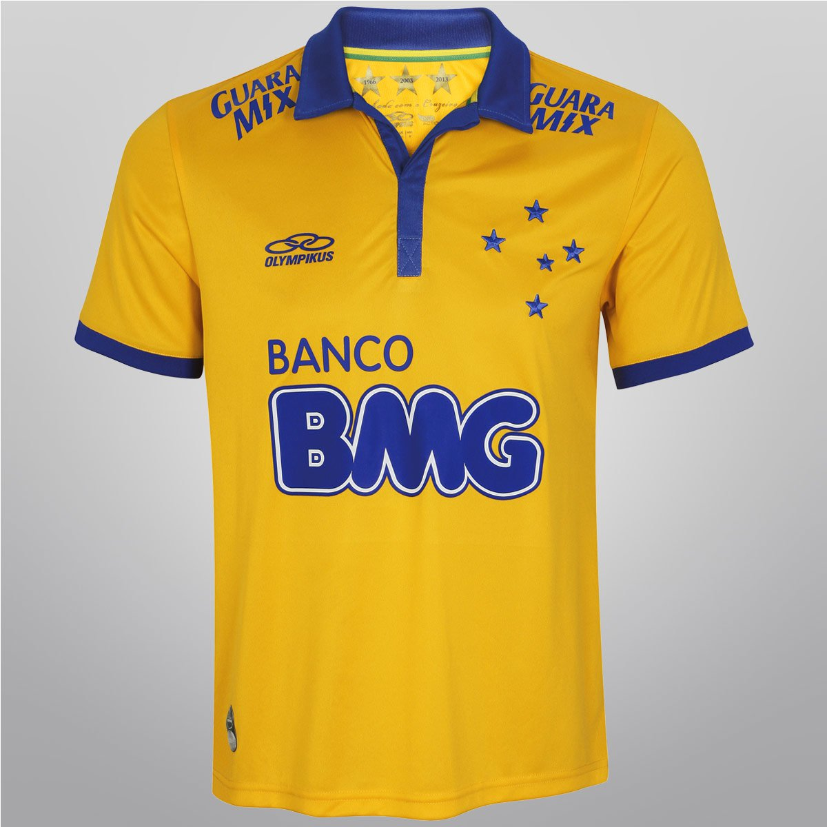61865fa4418cd Camisa Olympikus Cruzeiro III 2014 s nº - Compre Agora