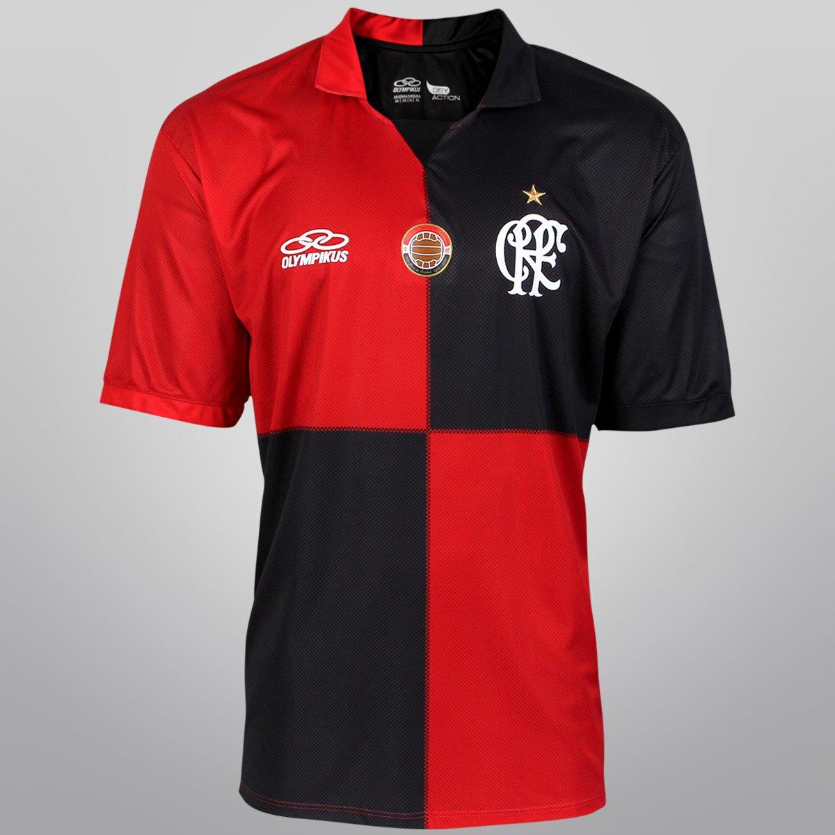 Camisa Olympikus Flamengo Centenário 2012 s nº - Ed. Especial - Compre  Agora  da92286dea018