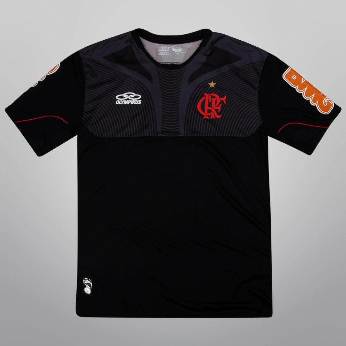 Camisa Olympikus Flamengo Treino 2012 - Compre Agora  f1aeccaf2b3f2