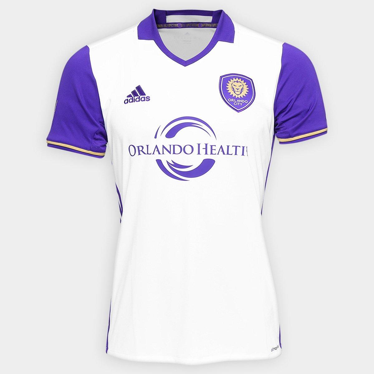 Camisa Orlando City Away MLS 2016 s nº Adidas Masculino - Compre Agora  090b1c80224a6