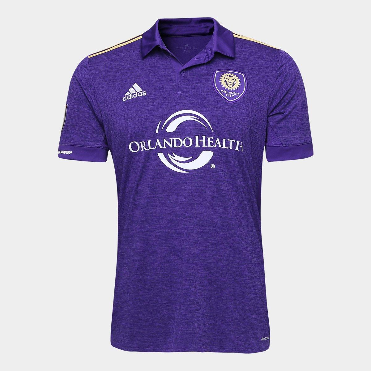 056fbbcebd Camisa Orlando City Home 17 18 s n° Torcedor Adidas Masculina - Compre  Agora