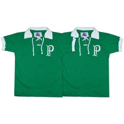 Camisa Palmeiras 1914/15 Liga Retrô Infantil  Verde 12