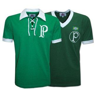 Camisa Palmeiras 1951 Liga Retrô  Verde M Camisa Palmeiras 191415 Liga Retrô  Verde m