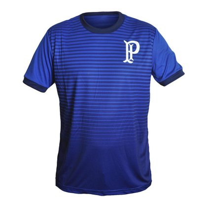 Camisa Palmeiras 2021 Treino Supporter Palestra Azul