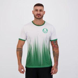Camisa Palmeiras Chambers Branca e Verde