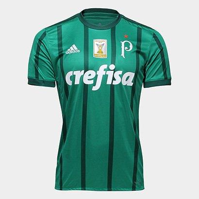 Camisa Palmeiras I 17 18 S Nº - Patch Campeão Brasileiro Torcedor Adidas  Masculina - Compre Agora  2c2ce02845d97