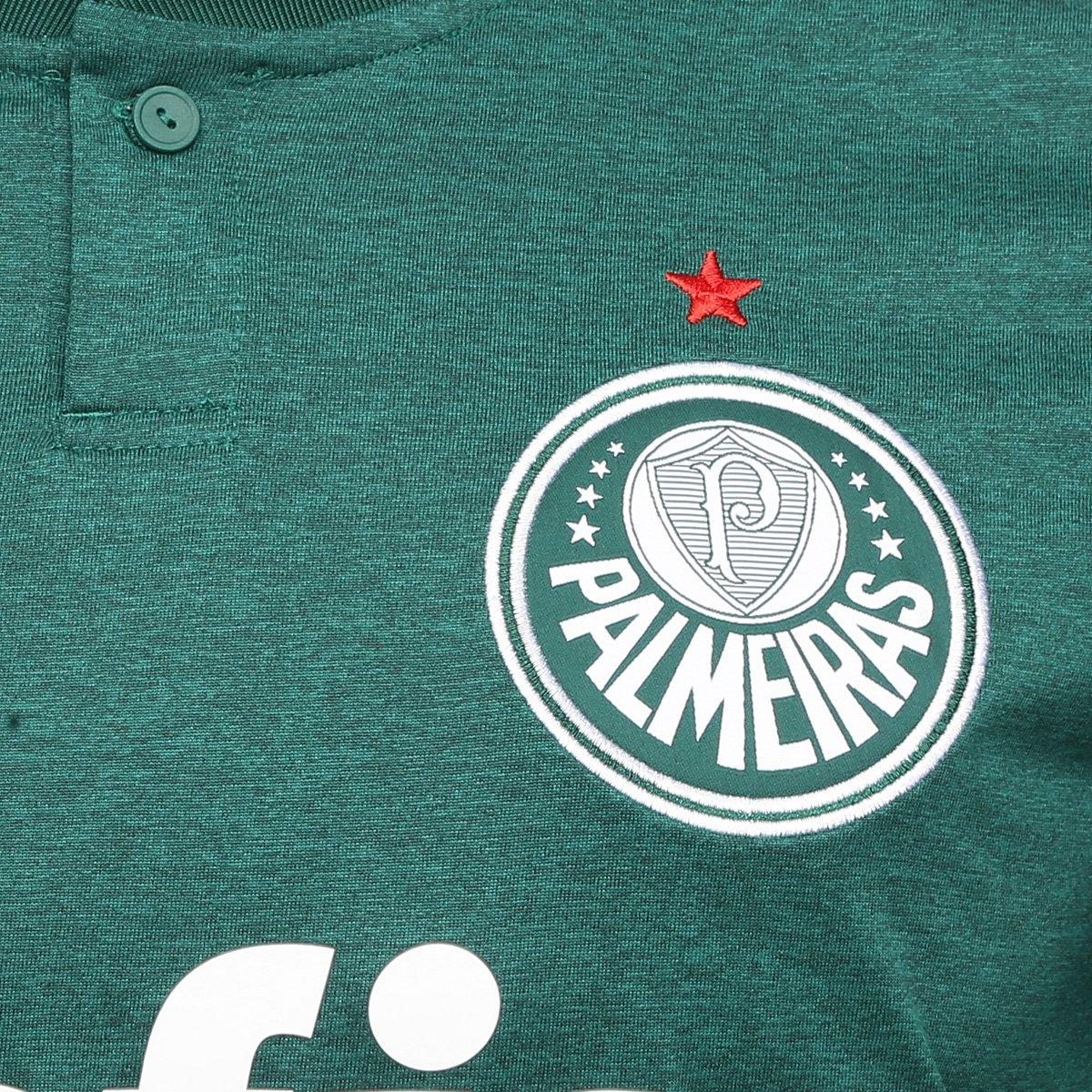 Camisa Palmeiras I 2018 s n° Torcedor Adidas Masculina - Verde e ... e991267938dc4