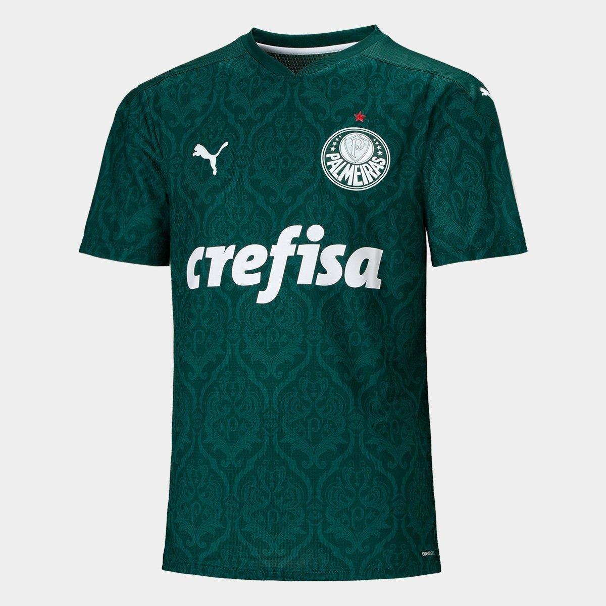 mantener heroico clímax  Camisa Palmeiras I 20/21 s/n° Torcedor Puma Masculina - Verde | Netshoes