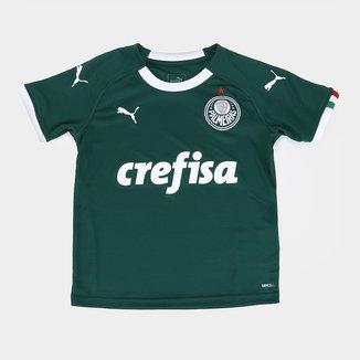 Camisa Palmeiras I Infantil 19/20 s/n° - Torcedor Puma
