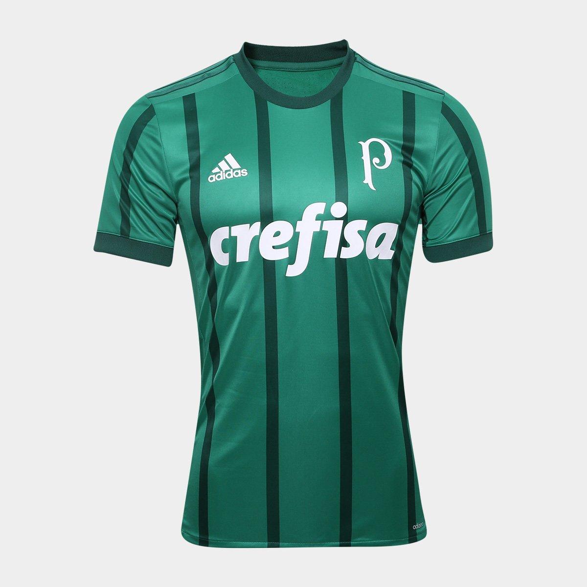 3dc6885155e79 Camisa Palmeiras I s n° 17 18 - Jogador Adidas Masculina - Compre Agora